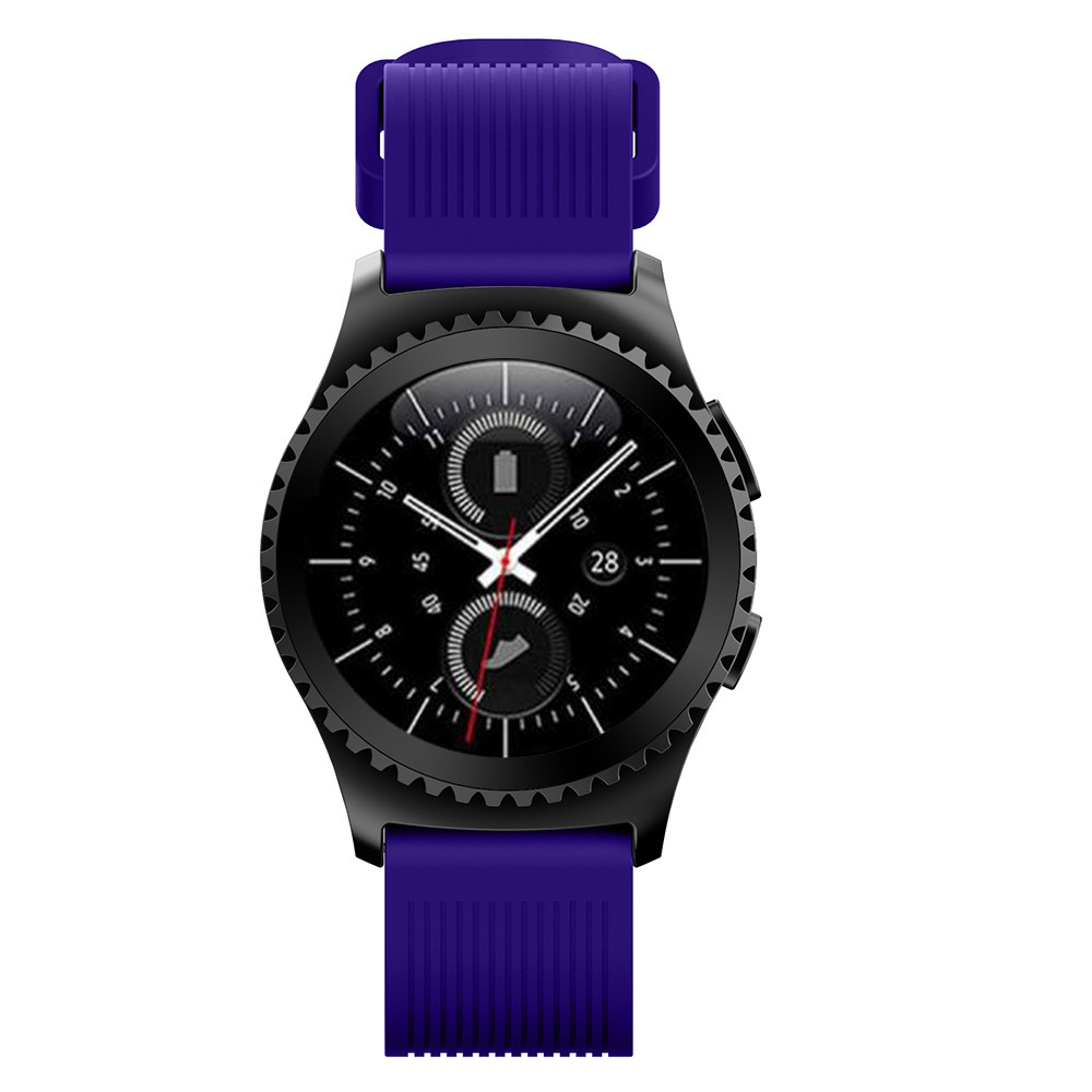 цена на New Arrivals Fashion Sports Silicone Bracelet Strap Band For Samsung Gear S2 Classic 732 Men Watch Hot sale dropshipping