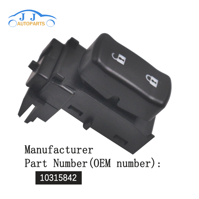 Amicable 10315842 Oem New Power Door Lock Button Switch Control 05-09 For Montana Uplander Crease-Resistance