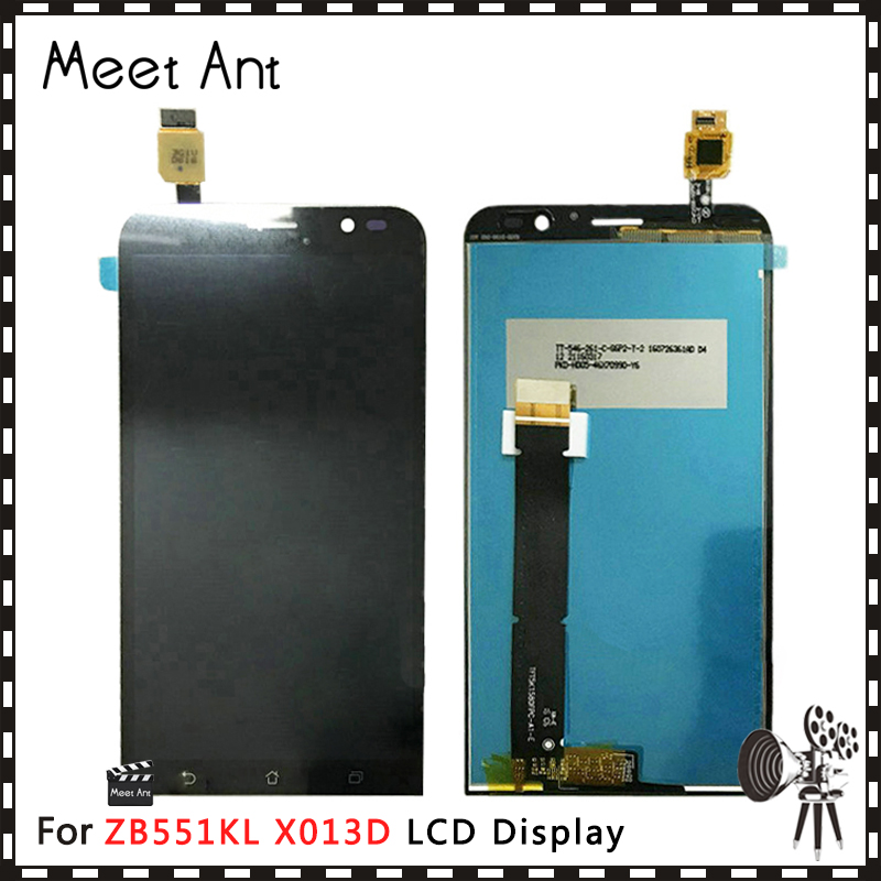 High Quality 5.5'' For <font><b>ASUS</b></font> Zenfone GO TV ZB551KL <font><b>X013D</b></font> LCD Display Screen With Touch Screen Digitizer Assembly image