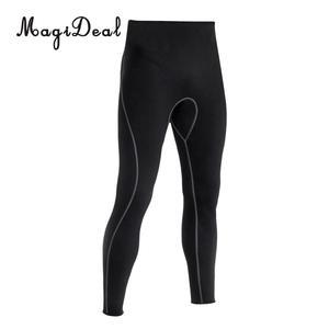 Image 5 - Mens 3mm Black Neoprene Wetsuit Pants Scuba Diving Snorkeling Surfing Swimming Warm Trousers Leggings TightsFull Bodys Size S XL
