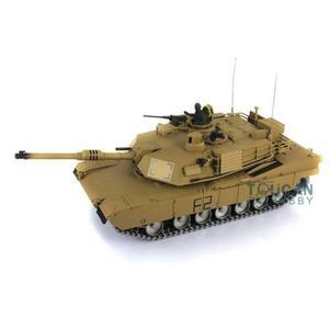 Image 5 - Henglong 1/16 echelle TK 6.0S personnaliser Abrams RC Tank 3918 360 tourelle canon recul TH12946