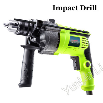 цена на Electric Impact Drill Stone Wood Drilling Machine Multi-function Handy Drill Speed Regulation Drilling Machine Accessories Z1JFD
