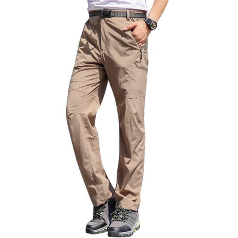 100% Wahr Marke Neue Männer Cargo Hosen Frühling Quick Dry Sportswear Jogger Jogginghose Modische Taschen Street Hip Hop Overalls Duftendes Aroma