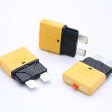 20AMP 28 В постоянного тока автоматический выключатель предохранитель подачи электроэнергии Новое поступление 20A стандартная Контактная Пластина предохранитель ручной сброс
