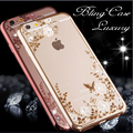 """Bling Diamond Soft Case For iPhone 6 6s / 6 Plus 4.7"""" 5.5"""" inch Luxury Clear Mobile Phone Cover For iPhone 7 / 7 Plus Back Cases"""
