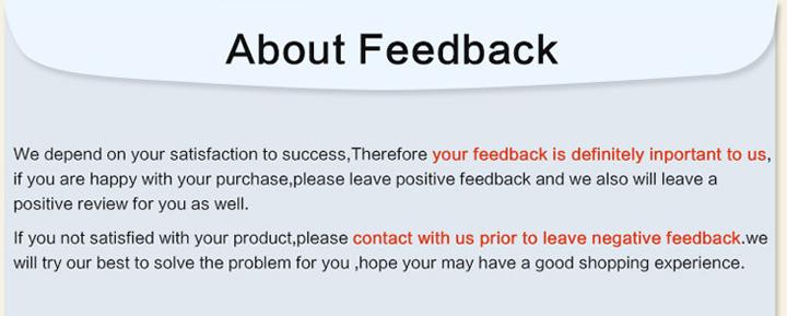 6 feedbacks