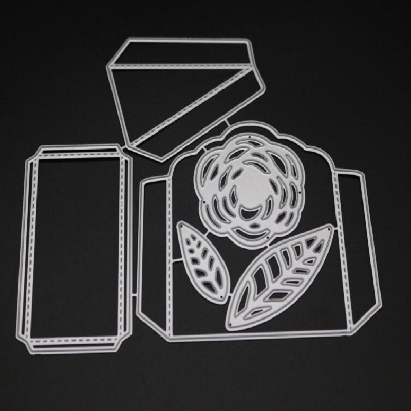 Glita Creatif candy box metal cutting dies for scrapbooking paper craft embossing stenciles gift box decoration metal dies cut in Cutting Dies from Home Garden