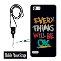 Hot 2016 New 1pcs Telephone Neck Straps Fashion Universal Detachable Lanyard For OPPO phone lanyard neck strap For Keys With