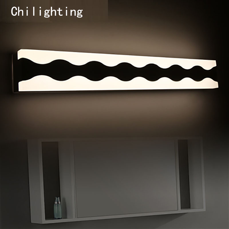 Length 42cm 6W Wave shape LED wall lamp bedside lamp modern living room wall lamp corridor hallway stairs lights