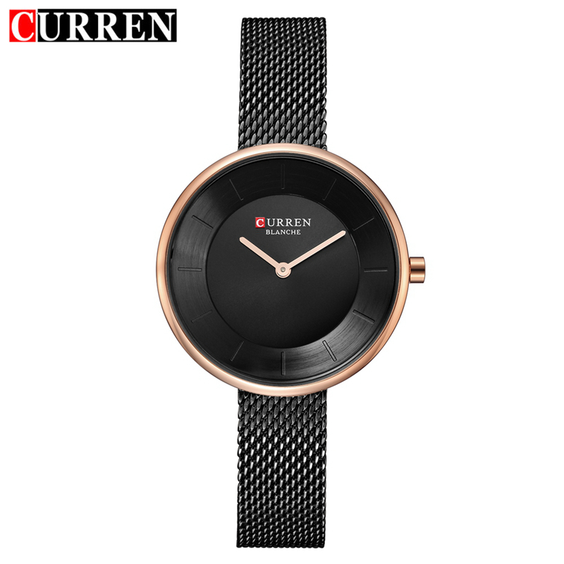 CURREN Women Bracelet Watch Fashion Casual Quratz Stainless Steel Ladies Wrist Watches Simple Wristwatches Relogio Feminino 9030 цена 2017