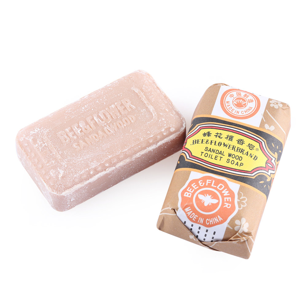 1Pc Sandalwood Whitening Soap Bar Acne Pimple Facial Nose Blackhead Remover Cleaner For Bath Shower Skin Care