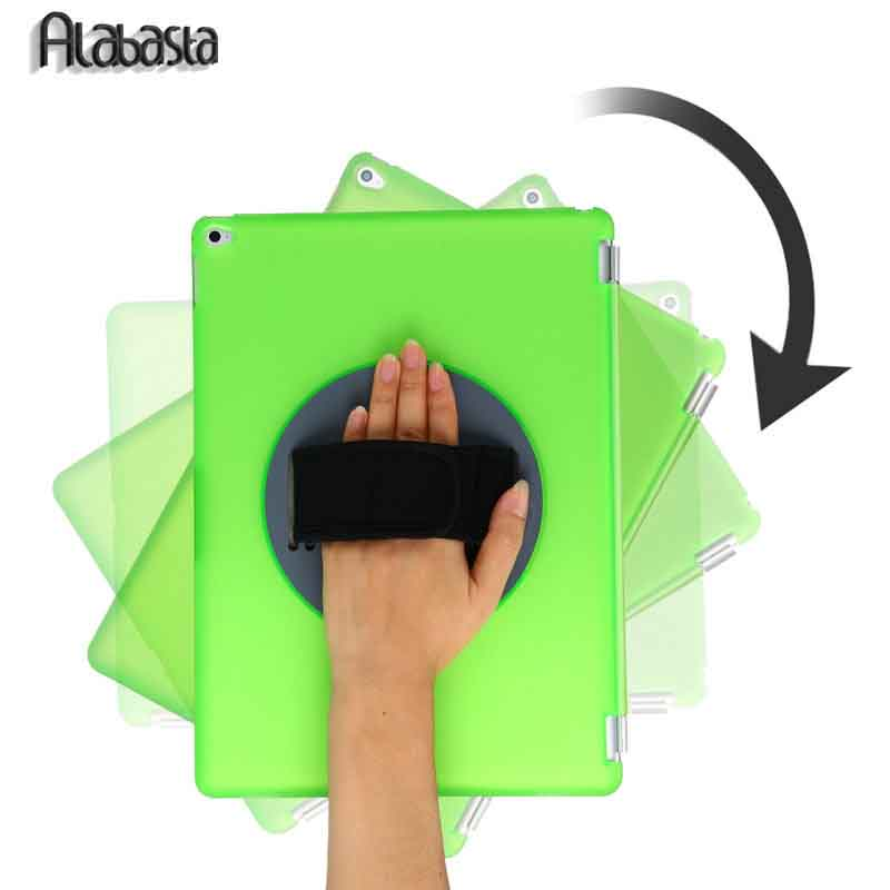 For ipad mini 4 Tablet Case 360 Degree Rotating Leather Stand Flip Folio Smart Wake Up Sleep Protector Hand hold Alabasta Cover case for funda ipad pro 12 9 luxury business leather case tablet 12 9 inch wake up hand belt holder stand flip bags alabasta