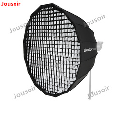 Godox Portable P120L P120H 120CM Deep Parabolic Honeycomb Grid Softbox Bowens Mount Studio Flash Reflector Photo Studio CD50 A04