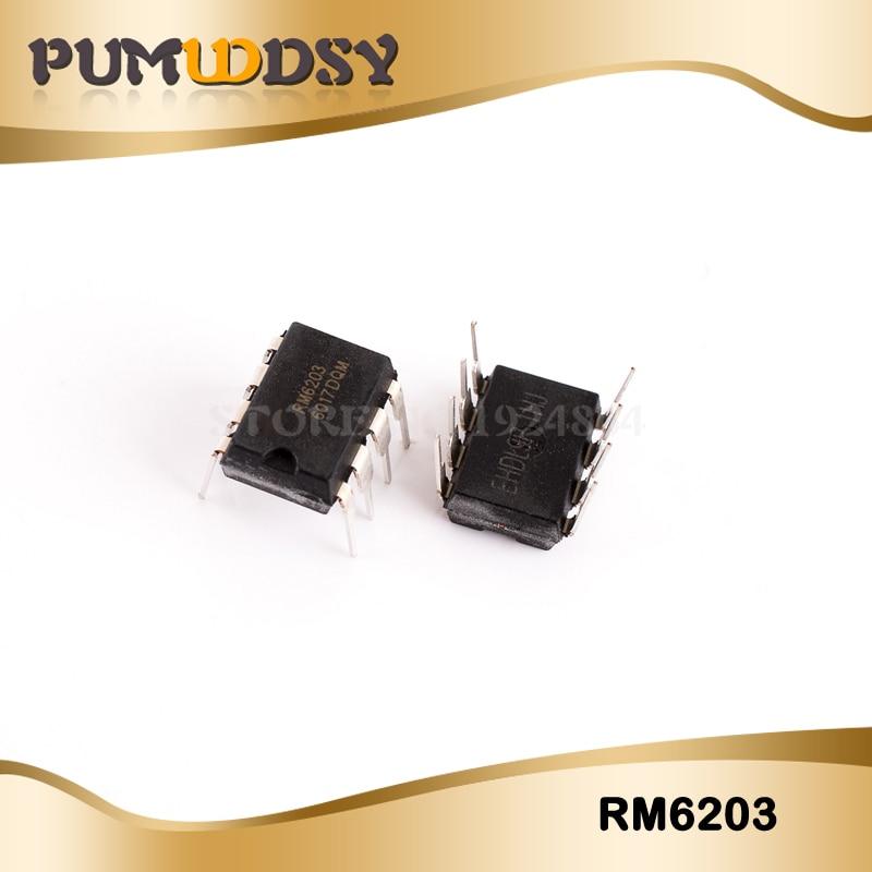 10pcs/Free Postage RM6203 CR6203 IC DIP8