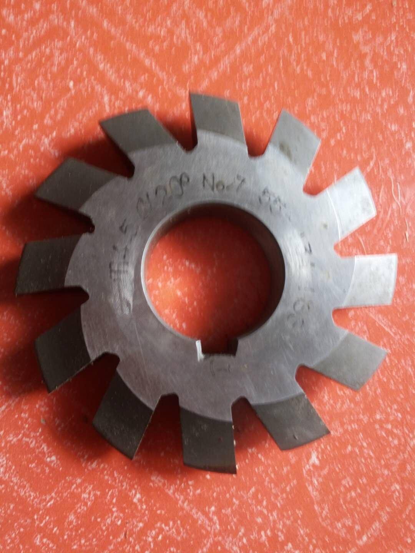 Set 8Pcs Module 4.5 PA20 Bore27 1#2#3#4#5#6#7#8# Involute Gear Cutters M4.5 set 8pcs module 3 pa20 bore27 1 2 3 4 5 6 7 8 involute gear cutters m3