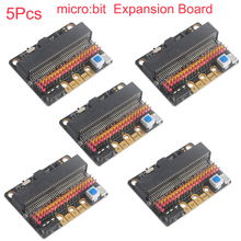 цены 5pcs For micro:bit microbit GPIO Expansion Board Educational Shield for Kids Programming Education RCmall FZ3228