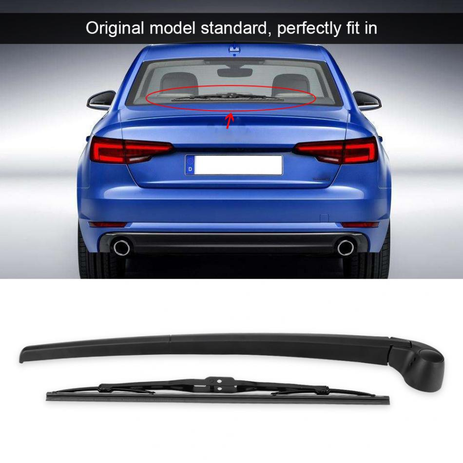 Cars Black Back Rear Wiper Arm Blade For Audi A4 B6 B7 ESTATE 2001-2008