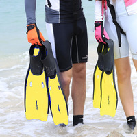 Comfort Flexible Adult Swimming Fins Submersible Long Swimming Flippers Snorkeling Foot Diving Fins 4 Size