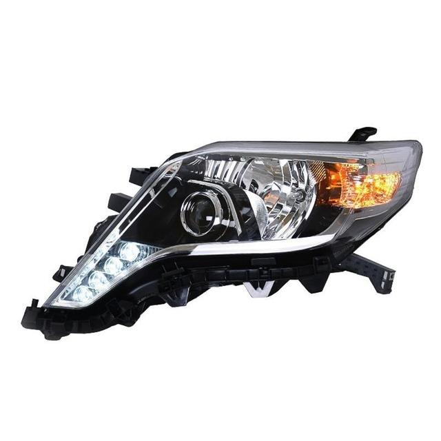 Luces Para Daytime Running Lamp Assessoires Auto Parts Led Drl Lights Assembly Cob Car Lighting Headlights For Toyota Prado