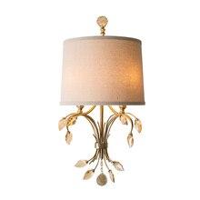 Europenのスタイルクリスタルウォールライト現代wandlamp Dia30 * H61cm光沢クリスタルランペmuraleホーム照明