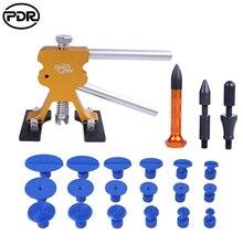 PDR инструмент для авторемонта автомобиля тела работы Ремонт вмятин атлет с 18 шт. клей вкладки 5 шт. кран вниз ручка для 1-7 см безболезненный дентинг
