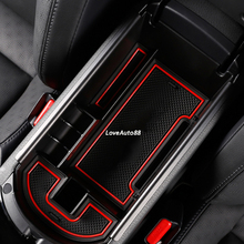 цена на Car Central Armrest Storage Box Container Car Tray Glove Box Case For Nissan Qashqai J11 2016 2017 Accessories