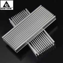 5pcs/lot 120x50x12mm Radiator Aluminum Heatsink Extruded Profile Heat sink for Electronic Dissipation