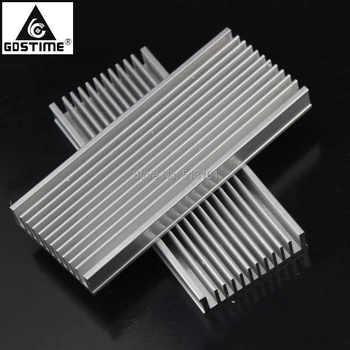 5pcs/lot 120x50x12mm Radiator Aluminum Heatsink Extruded Profile Heat sink for Electronic Heat Dissipation