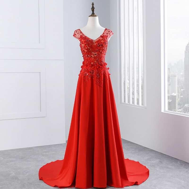 Red Lace Mother Of The Bride Dresses Gowns For Weddings