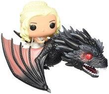 NUEVA caliente Juego de Tronos Daenerys Targaryen Daenerys Stormborn coleccionistas figura de acción juguetes muñeca de regalo de Navidad con la caja