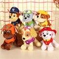 Anime Puppy Plush Doll Dog 12 & 20cm Patrulla Canina Pat Canine Patrol Toy Pow Pet Patrulha Pata Plush toys Ryder Marshall Skye
