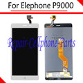 White 100% New Full LCD DIsplay + Touch Screen Digitizer Assembly Replacement For Elephone P9000 LTE Free Shipping