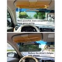 Car Sun Visor HD Anti Sunlight Dazzling Goggle FOR peugeot 206 Mitsubisi vase 2110 vw tiguan peugeot 407 fiat 500 accessories