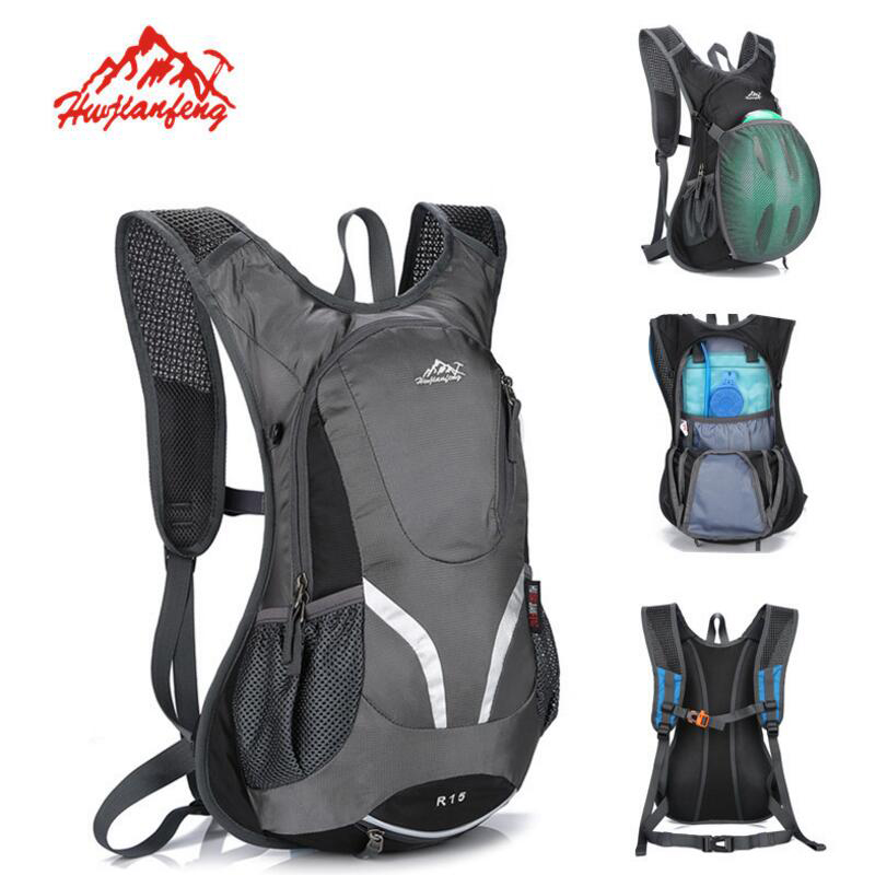 15L Cycling Backpack Ultralight Hiking Riding Bicycle Bag Men's Women Waterproof Travel Backpacks Outdoor Camping Sports Bag