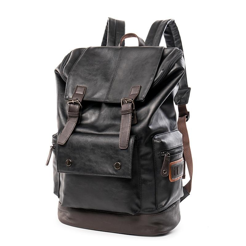 Korean men 39 s casual shoulder shoulder men 39 s backpack fashion Korean fashion travel backpackbag in Backpacks from Luggage amp Bags