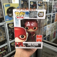 2018 SDCC Exclusive Funko pop Official DC: JUSTICE LEAGUE The Flash Vinyl Action Figure Collectible Model Toy with Original Box