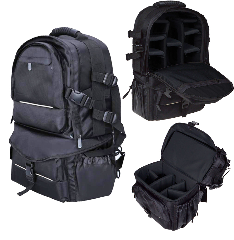 New Multifunctional Universal DSLR SLR Pro Backpack Bag Camera Bag Case For Nikon Canon Sony Panasonic Leica fuji Fujifilm