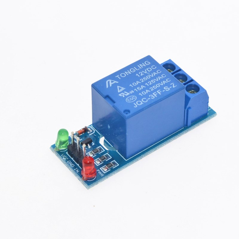 10pcs 12v Low Level Trigger One 1 Channel Relay Module