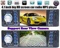 12 V carro FM estéreo do carro autoradio Bluetooth rádio MP3 Audio Player suporte a Bluetooth telefone USB / SD MMC porto RADIO Car em Dash 1 DIN