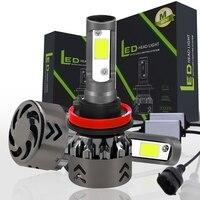 2xNEW High Performance H7 H8 H11 9005 9006 H4 120W 20000LM LED M6 Headlight Kit Beam Bulbs 6000K 2018