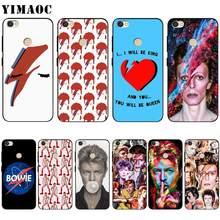 YIMAOC David Bowie Nghệ Thuật Ốp Lưng Silicon Xiaomi Redmi Note 4 4X 4A 5 5A 6 8 Pro Prime Plus(China)
