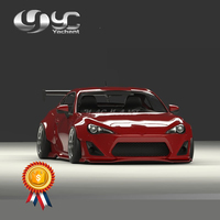 Fiber Glass Body Kit Fit For 12 18 GT86 FT86 ZN6 FRS BRZ ZC6 GRD X RB Ver.1 Style Front & Rear Lip Fender Side Skirts