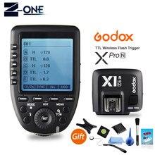 Пульт дистанционного управления Godox Xpro N i TTL II 2,4G X System, совместим с фотовспышкой Nikon