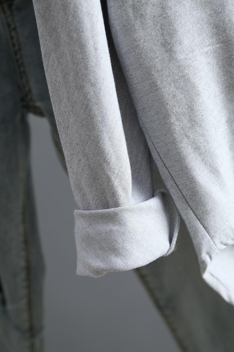 Blouse Korean Long Sleeve Tops And Blouses Vintage Women Shirts 37