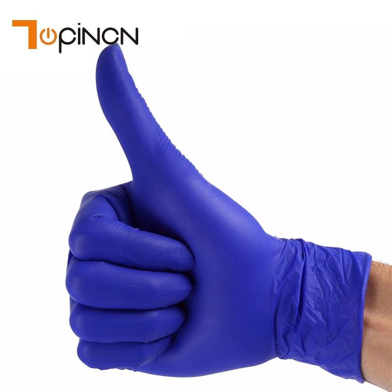 House cleaner handjob gloves