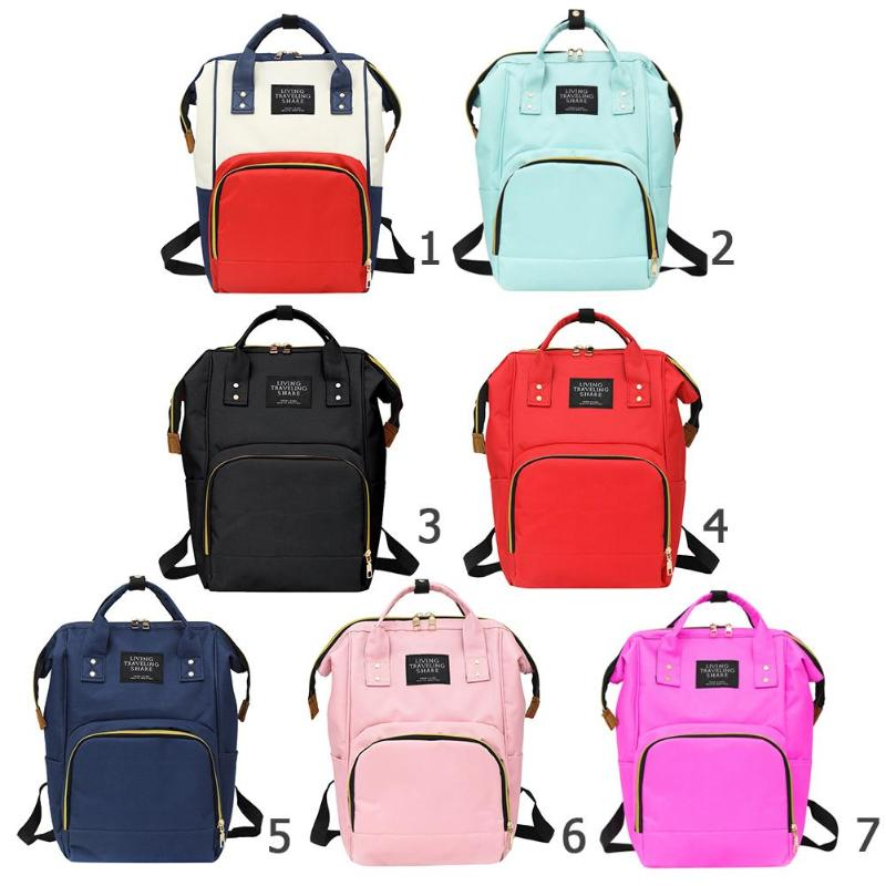 HTB1FvvJXtfvK1RjSspoq6zfNpXa9 Diaper Bag Pregnant Women Mummy Travel Nappy Bag Large Capacity Waterproof Zipper Maternity Nappy Bag Nursing Bag Baby Organizer