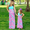 Mother daughter dresses Print Family matching clothes 2017 Nmd Baby girl outfits Family look matching mother daughter clothes