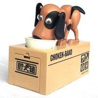 New Dog coin piggy bank,Dog saving money box,coin bank,money bank, kids gift,novelty toys 12*9*10cm Freeshipping