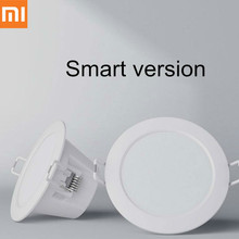 все цены на Xiaomi Mijia Smart Home Downlight Wifi Work with Mi home App Smart Remote control White Warm LED adjustable intelligent Light онлайн