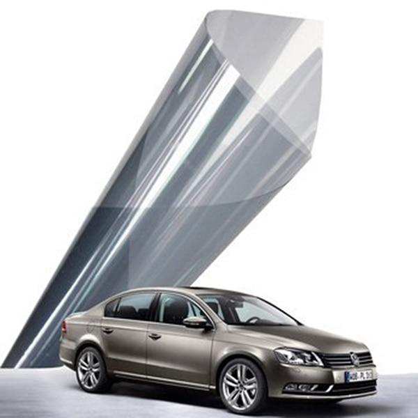 152 cm x 50 cm Nano seramik filmi açık mavi araba pencere tonu - Ev Dekoru - Fotoğraf 4